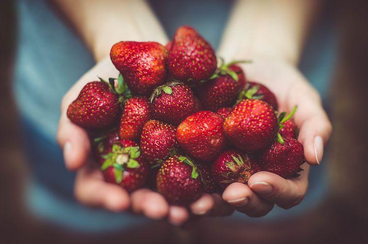 Spotlight on Strawberries:  Coeur à la Crème