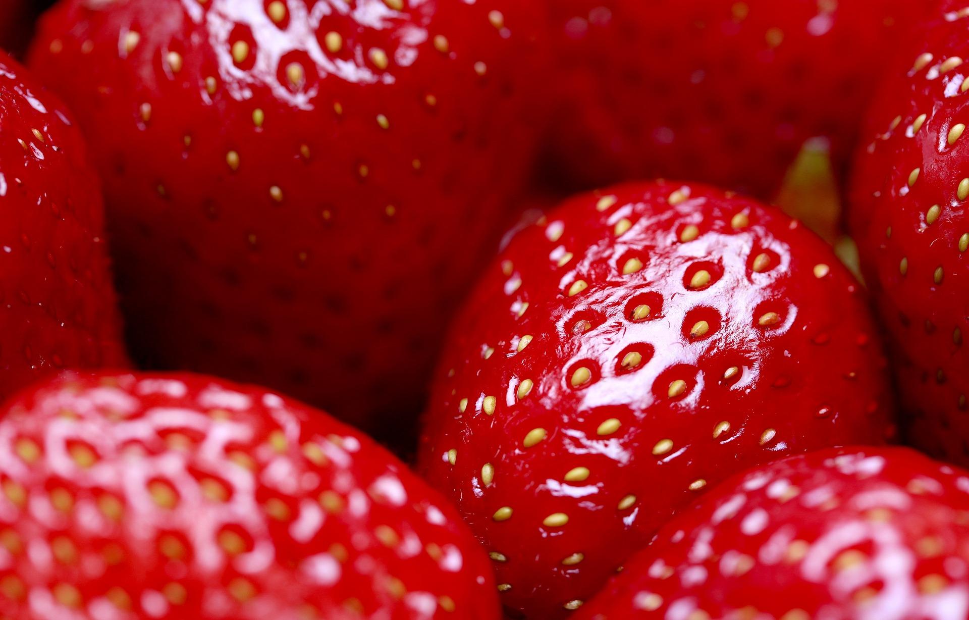 Spotlight on Strawberries: Strawberry Yogurt Medley