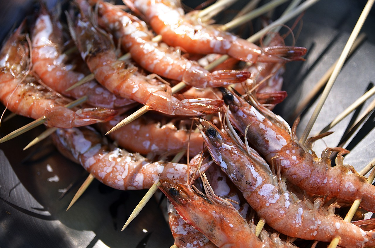 Spotlight on Seafood: Grilled Lemon Basil Shrimp